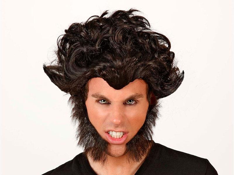 Peluca hombre lobo Plasticosur Esperamos que estos consejos de maquillaje para Halloween