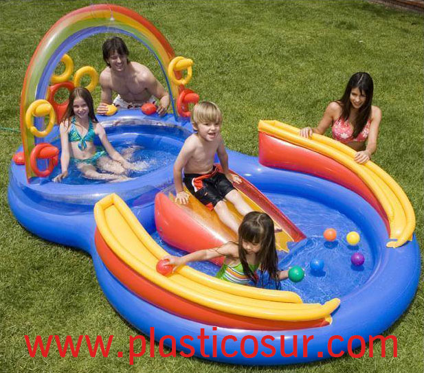 piscina hinchable playa